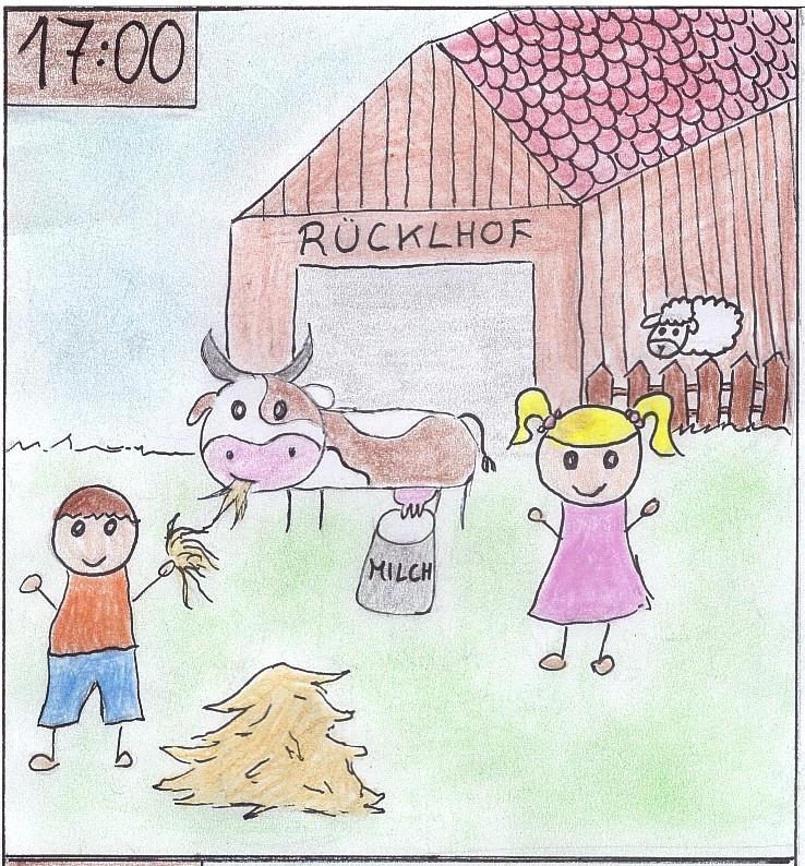 Kühe melken
